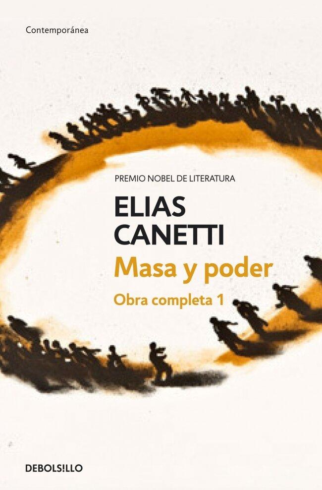 """Portada de """"Masa y poder"""" de Elías Canetti."""